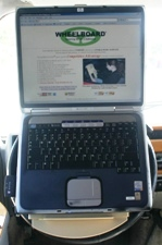 Wheelboard® with Laptop